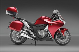 Honda VFR1200F complimentary touring pack