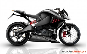 The revamped Buell 1125 CR