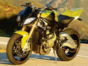The naked BMW S1000 RR