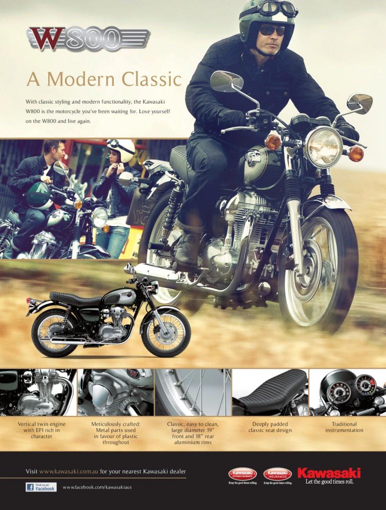 Kawasaki W800 - a modern classic