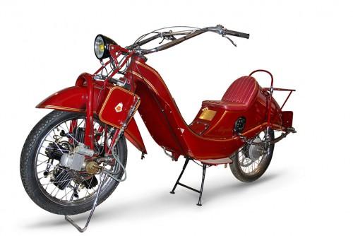 The radial-engined Megola