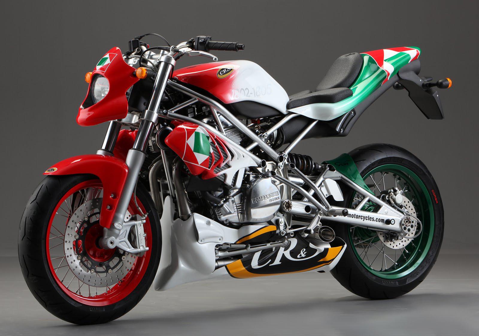 CR&S DUU Motorcycle News - Top Speed