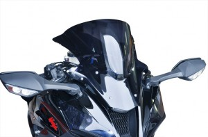 New Ninja ZX-10R gets Skidmarx double bubble windscreen
