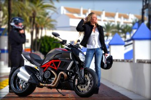 The Ducati Diavel - click on the image for more pictures