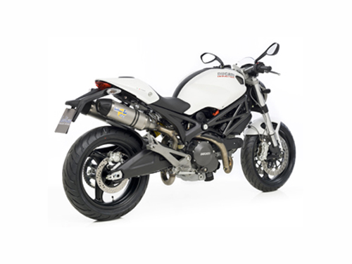 2011 Ducati Monster with LeoVince LV-ONE