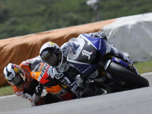 Jorge Lorenzo and Dani Pedrosa