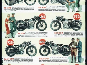 DKW Motorräder from the 1920's