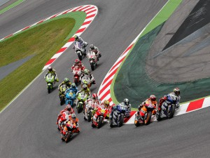 Stoner cruises to Catalunya GP win