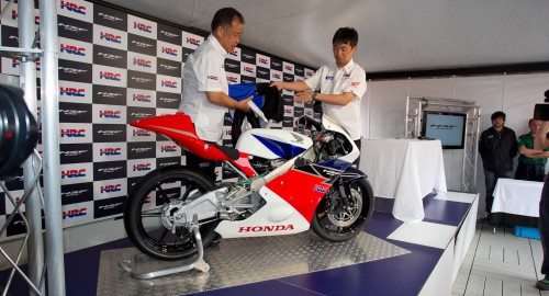 The bike was unveiled in Spain