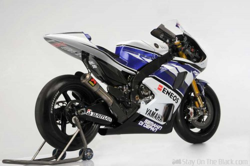 YZR-M1 with Akrapovic