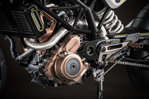 Both concepts got a 43-hp, 373cc single cylinder KTM engine