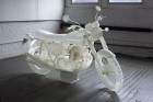 The 3D-printed CB500