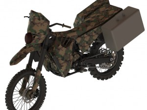 The design of the SilentHawk uses an AltaMotors dirt bike as its base