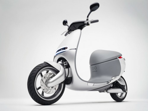 Meet the Gogoro Smartscooter