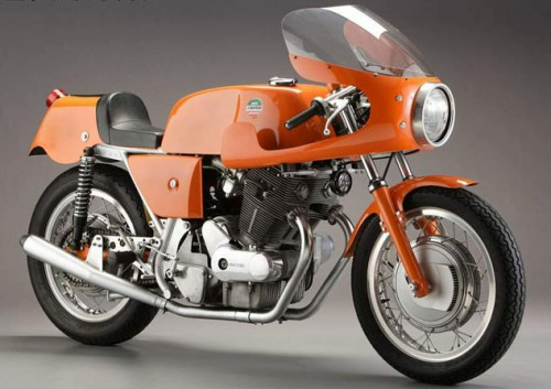 Laverda with the iconic parallel twin