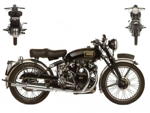 1949 Vincent HRD Black Shadow Series C1