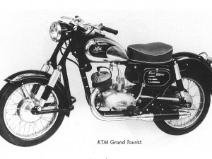KTM celebrates 65 years of Grand Tourist