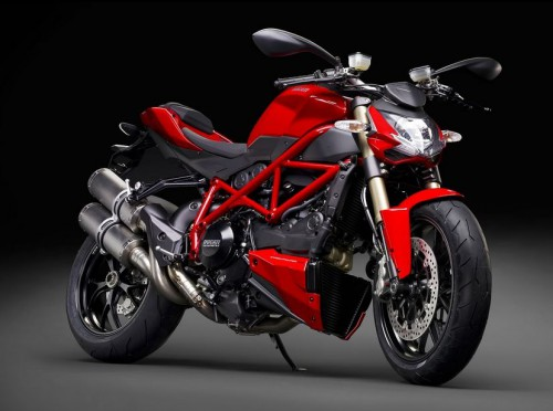 Ducati Streetfighter 848 uses Marzocchi suspension parts