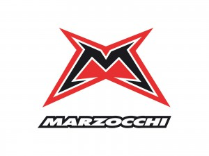 The logo of Marzocchi