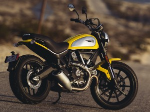 The new Scrambler helped Ducati to achieve record sales numbers