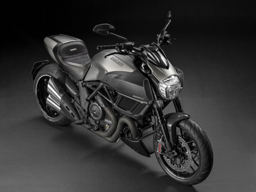 The limied edition bike is lighter than the base Diavel