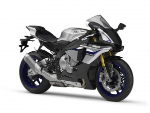 The Yamaha R1M features Öhlins suspension