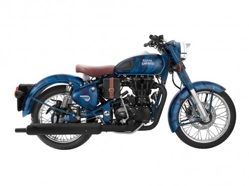 Royal Enfield Classic 500 Despatch Edition Squadron Blue