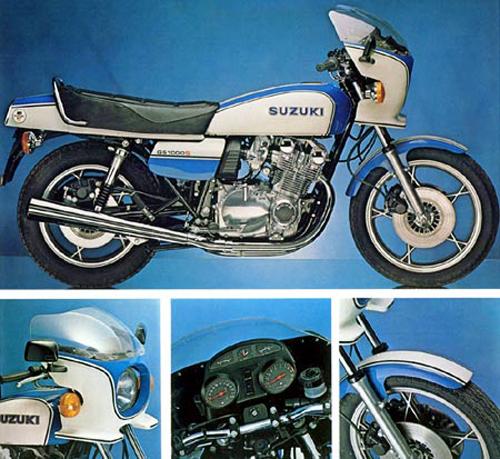 1980 Suzuki GS1000S details