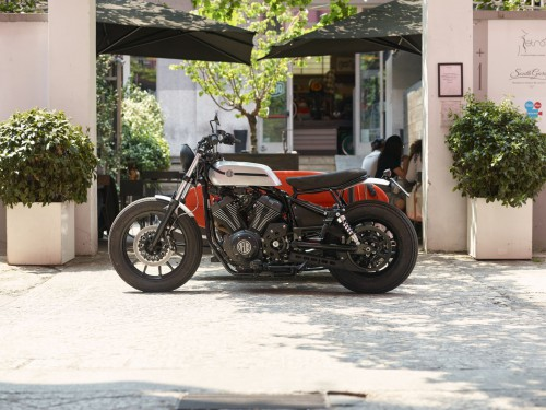 Yamaha Yard Built XV950 'D-Side' by Deus Ex Machina