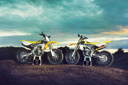 The 450 and 250cc 60th Anniversary models