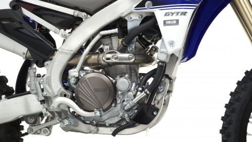 The new YZ250F has a revised engine