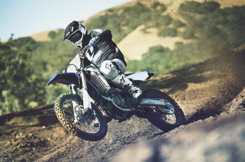 Yamaha upgraded the largest YZ model