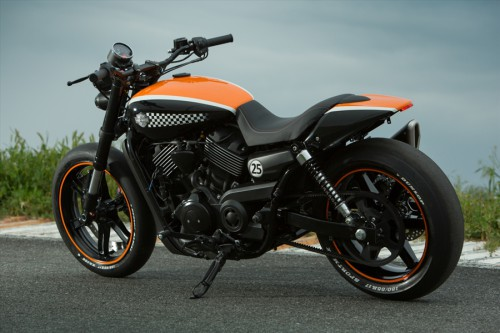 A more manly Harley Street 750