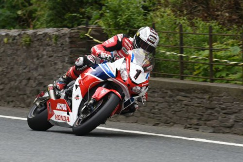 New absolute lap record for John McGuinness
