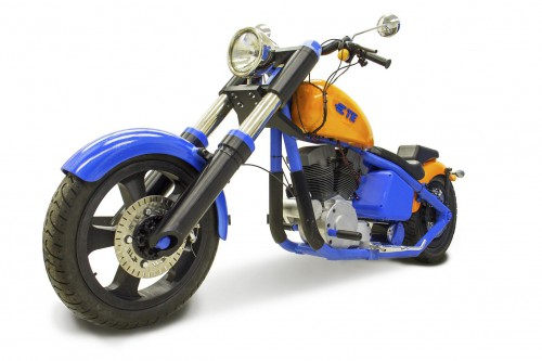 The first plastic Harley ever made