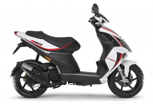 2015 Piaggio NRG 50 with red graphics