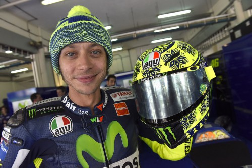 Rossi is currently 2nd in MotoGP