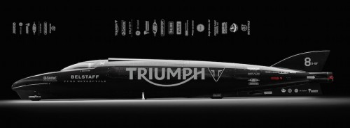 Guy Martin joined the Triumph team to take the world record back to the U.K.