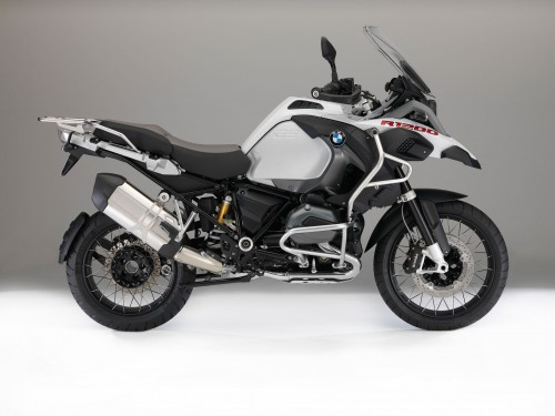 2015 BMW R 12000 GS in red livery