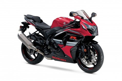 2016 GSX-R1000 Commemorative Edition in red