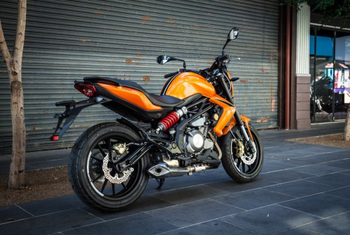 The DN302 is an ideal bike for starters