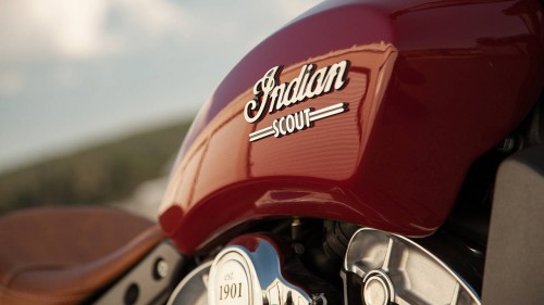 A name with great heritage - 2016 Indian Scout ABS