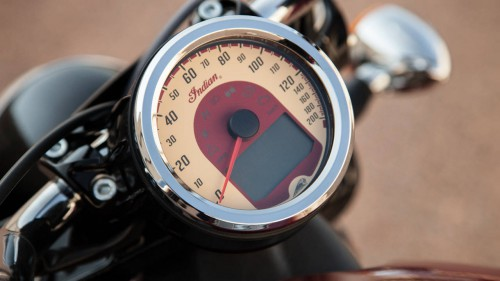 Classic typo - 2016 Indian Scout ABS