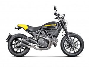 Akrapovic Slip-On line for Ducati Scrambler