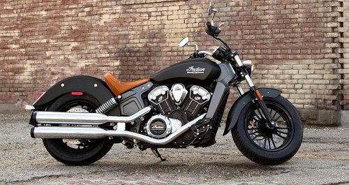 2016 Indian Scout Matte Black