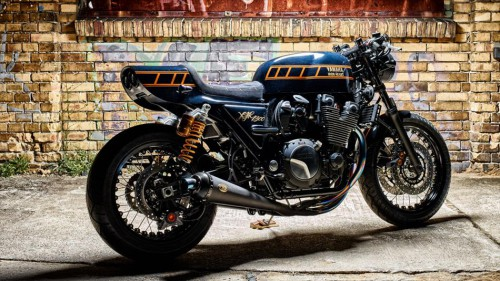 Yamaha Yard Built XJR1300 by Iron Heart