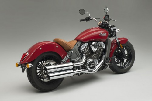 2016 Indian Scout with the Remus system