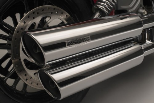 The stainless steel exhausts are fully EC approved and have a two-year warranty.