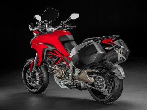 Multistrada 1200S with the touring pack