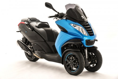 Peugeot Metropolis Blue Line Special Edition Revealed Motorcycle News
